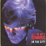 In The City by Jimmy Edwards single sleeve