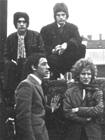 The Neat Change publicity shot of 1960s London band