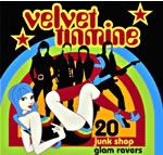 Velvet Tinmine CD cover