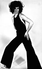 Julia Callan-Thompson wears big flares in 1966