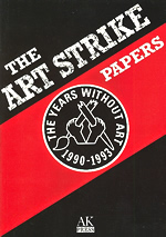 Art Strike Papers cover