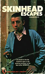 Skinhead Escapes by Richard Allen cover
