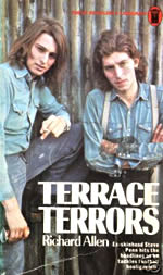 Terrace Terrors by Richard Allen cover