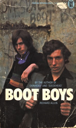 Boot Boys by Richard Allen cover