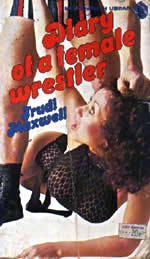 Diary of a Female Wrestler by Trudi Maxwell cover
