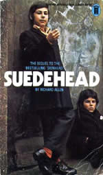 Suedehead by Richard Allen cover